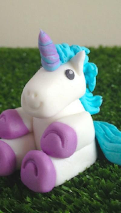 Sugar paste cake decorations: Unicorns! with Maria ONLINE