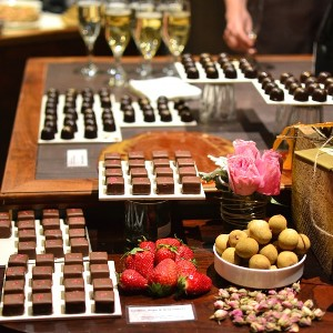 A display of delicious chocolates
