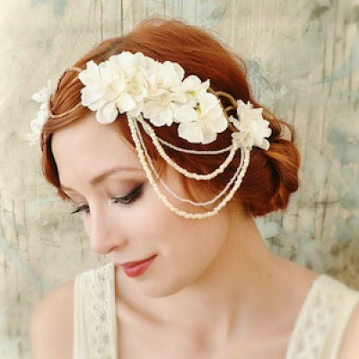 Floral Fascinators and Hair Pieces
