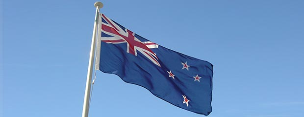 The New Zealand flag, before the vote.