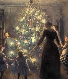 Glade jul by Viggo Johansen