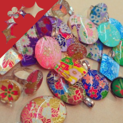 Glass and Paper Jewellery