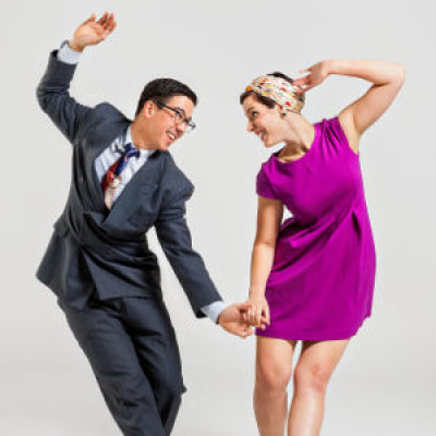 White Night Swing Dancing: From Swing and Bop to Lindy Hop