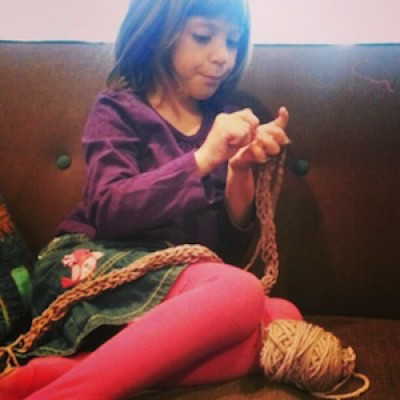 Finger Knitting: Unplugged