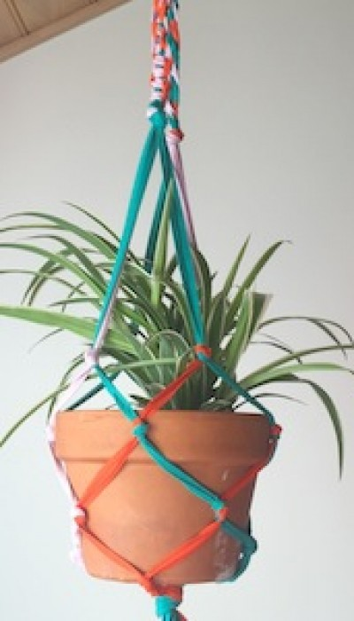 Upcycled Macramé Planters with Maria