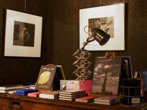A display inside Embiggen Books