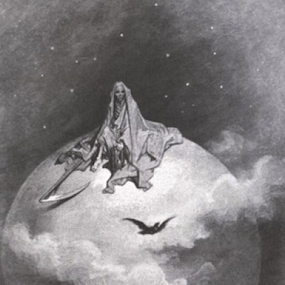 Paul Gustave Dore Raven Illustration