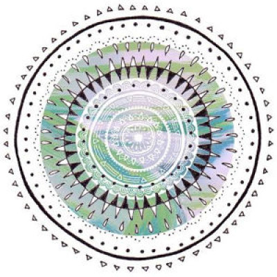 Watercolour Mandala Drawings