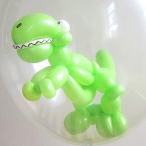 A balloon T-Rex