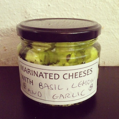 Marinated Cheese: Epicurus' Delight