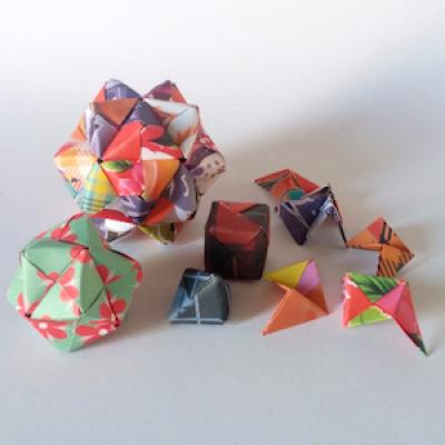 Geometric Modular Origami