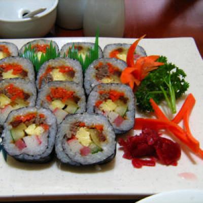 Intro to Korean Food: The Taste of Kimbap