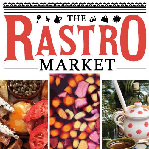 The Rastro Market banner logo