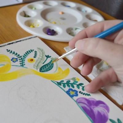 Contemporary Watercolours: Floral Motifs