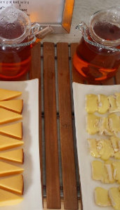 Tea and Cheese Pairing