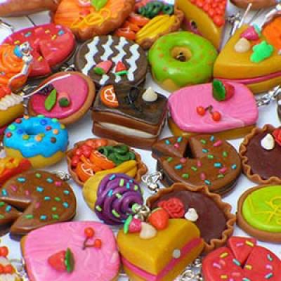 Polymer Clay Minifood