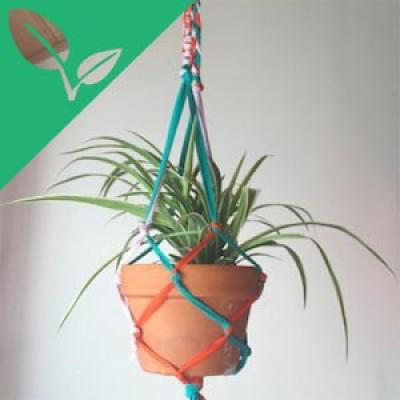 Upcycled Macramé Planters