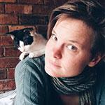 Meiki and a kitten