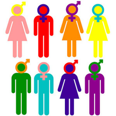 An image showing a selection of different genders