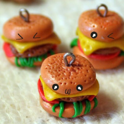 Cute Japanese-style Food in Polymer Clay