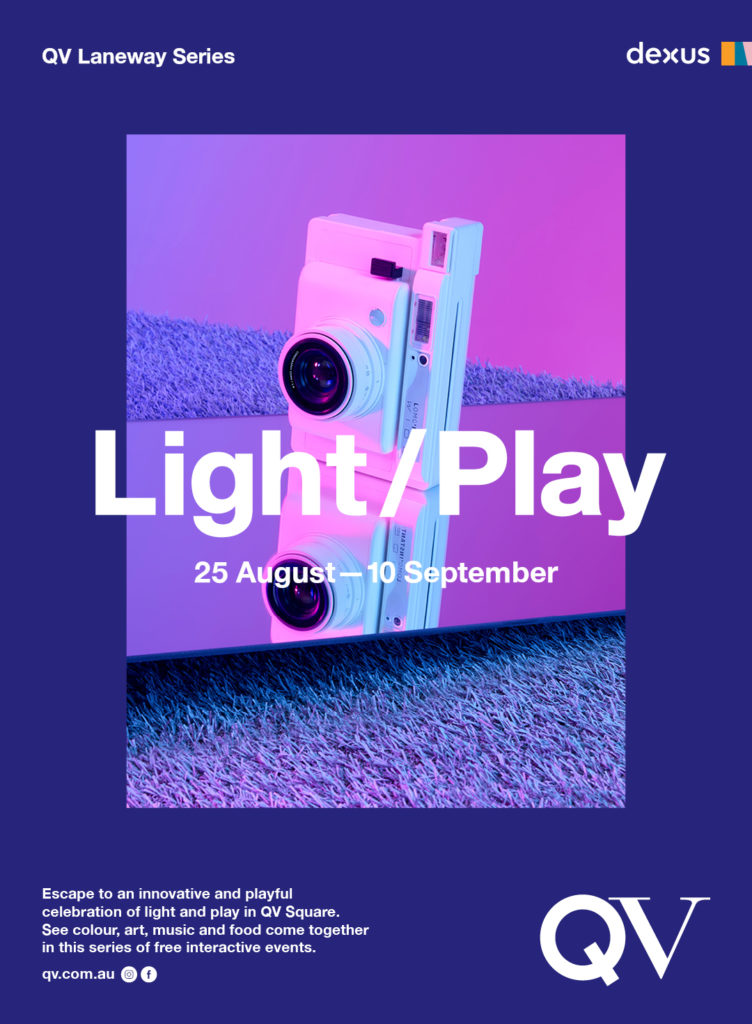 QV Light / Play logo
