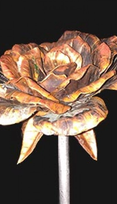 Metalworks: Craft a Copper Rose with Gordon