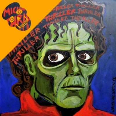 A painting for Micheal Jackson's Thriller.