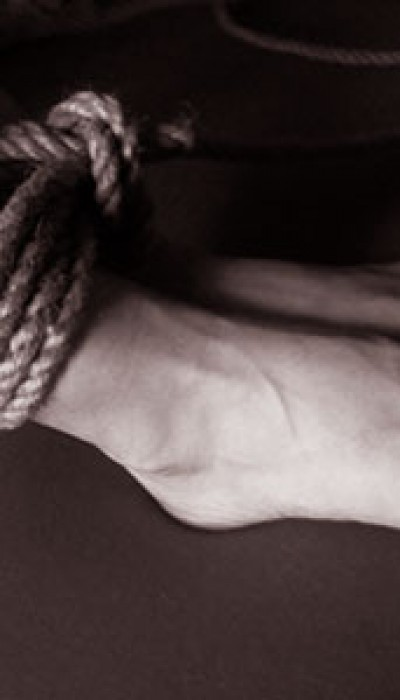 Fundamental Rope Bondage with Blue Velvet