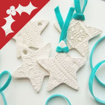 Claytastic Christmas Creations: Using Air Dry Clay