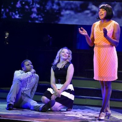 3 people acting in stage