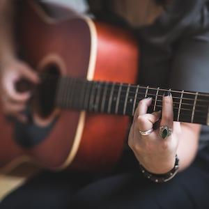 acoustic-acoustic-guitar-adult-374711