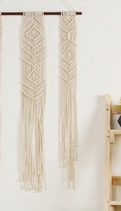 Macramé Wall Hangers with Maria
