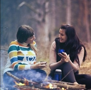 Friendship Talking Smile Women Happy Girls