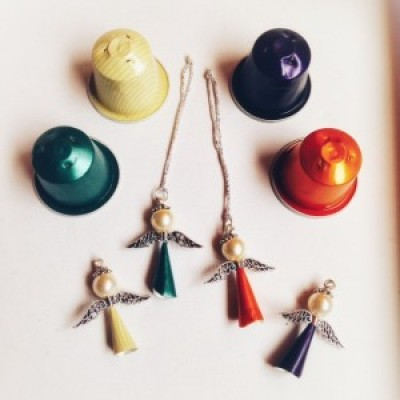 Upcycled Angels For Your Christmas Tree