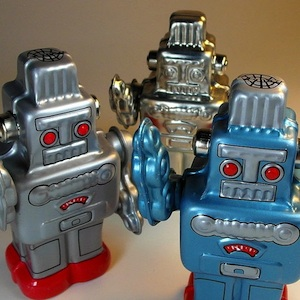 tin robots that are not nanobots
