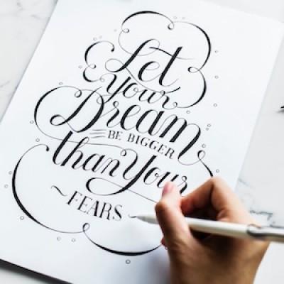 Calligraphy For Beginners with Rachel ONLINE