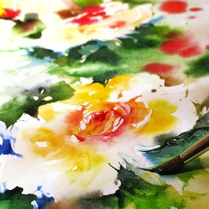 Paint Art Brush Embroidery Watercolour Watercolor
