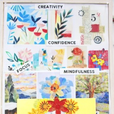 Collage for Mindfulness