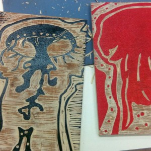 woodblock printmaking