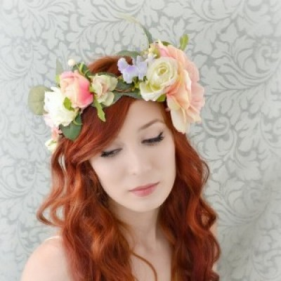 Fresh Flower Crowns with Sarah