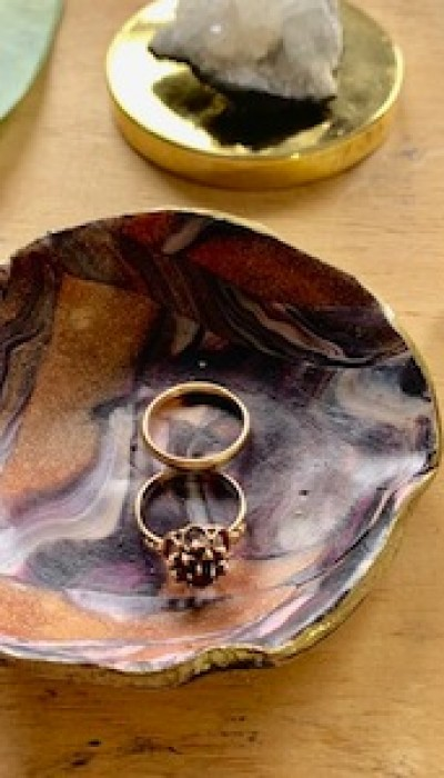 Make a Polymer Clay Ring Dish with Emilie