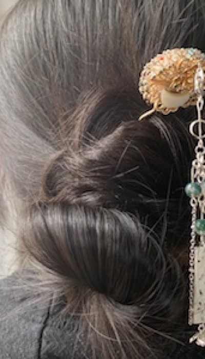 Traditional Chinese Style Hair Stick with Chang