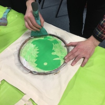 Totes! An Introduction to Screenprinting with Fran