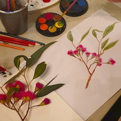 Watercolours: Painting Nature with Chantelle ONLINE