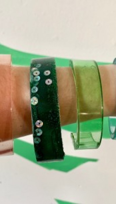 Bespoke Resin Cuffs with Jenny
