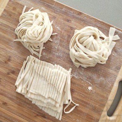 Making Noodles from Scratch with Qing