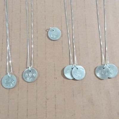 Make your own Silver Pendant and Earrings with Jenny