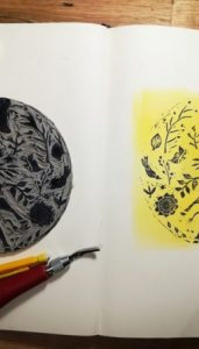 Introduction to Linocut with Emilie
