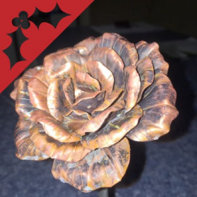 Handmade Gifts: Craft a Copper Rose with Gordon