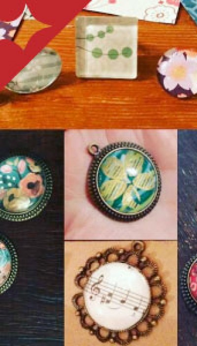 Handmade Gifts: Glass Paper Jewellery with Jenny